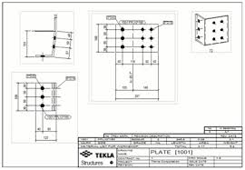 Architectural Drawing Sheet Numbering Standard by Folded Part Drawings Tekla User Assistance