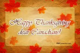 image result for happy canadian thanksgiving weekend images