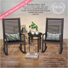 Accent Table Decor Second Life Marketplace What Next Palma Full Set Rocking
