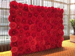 photo backdrop paper paper flower backdrops for the wedding singapore