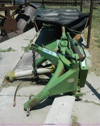 john deere 260 disc mower item w9008 sold july 9 govern