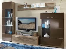 Wohnzimmerm El Furniert Ideen Wohnwand Croadiva In Wei Mit Eiche Furnier Pharao24de Und