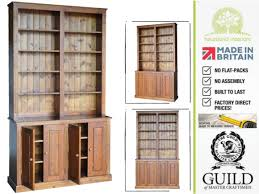 tall narrow oak bookcase handmade 8ft tall bookcases with care from heartland interiors