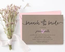 rustic bridal shower invitations rustic bridal shower etsy