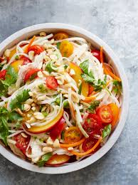 gluten free for good cold chicken and rice noodle salad recipe