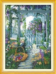 compare prices on paintings garden gate online shopping buy low