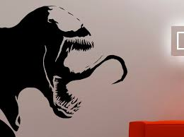 wall decals stickers home decor home furniture diy venom wall decal vinyl sticker comics superhero art boys room bedroom decor 9vzz