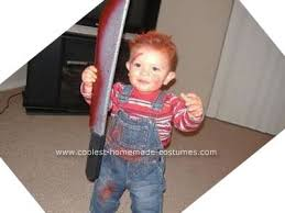 chucky costume baby chucky and of chucky costume here it goes well