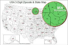 us 3 digit area code usa 3 digit zipcode map