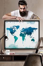 Large World Map Poster by Best 20 World Map Poster Ideas On Pinterest Maps Posters World