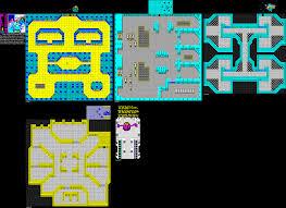 Terminus Cave Map Zx Spectrum Games Přímé Odkazy Na Mapy