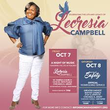 gospel vocalist lecresia campbell passes away u2013 the journal of