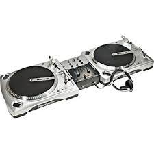 dj table for beginners numark beginner dj turntable package amazon co uk musical instruments