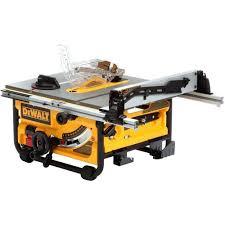 dewalt table saw dw746 table saws 122835 new dewalt dwe7480 10 inch portable compact table