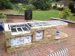 Building Kitchen Cabinets Plans Outdoor Kitchen Building Outdoor Kitchen Cabinets Cute Brilliant