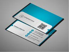 simple and clean business card design template design