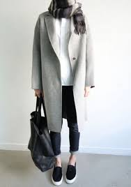 light grey wool coat round hem great hooded wool coat womens fleece blazer by zeniche
