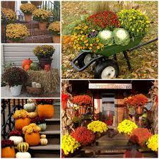 fall garden decorations gardening ideas