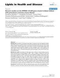 PDF Influence of apoA V gene variants on postprandial triglyceride