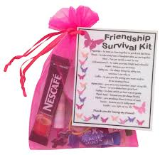 friendship best friend bff survival kit gift great present for