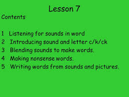 spelling for older students sso lesson 7 contents 1 listening for