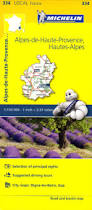 Provence France Map by 334 Alpes De Haute Provence Hautes Alpes Michelin Local France