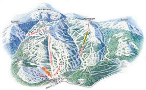 Map Of North America With Mountains by Alta Ski Area Trail Map Pajarito Mountain Ski Area Trail Map Top
