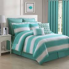 aqua ruffle comforter contemporary comforters touch of class picture blue ombre