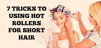 how to put rollersin extra short hair 7 tricks to using hot rollers for short hair curling diva