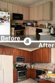 Small Kitchen Remodel Before And After 197 Best Kitchen Transformations Images On Pinterest Kitchen