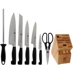 zwilling j a henckels four star 8 pc knife block set page 1