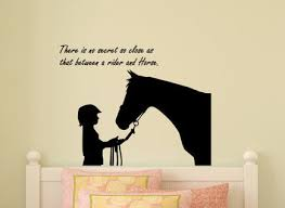 stickers muraux citations chambre cheval sticker mural citation autocollant mur mots cheval et