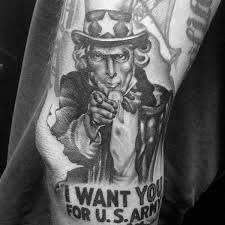I You Tattoos Designs 90 Army Tattoos For Manly Armed Forces Design Ideas