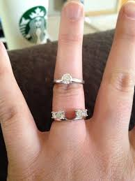 Solitaire Wedding Rings by Show Us Your Wedding Band For Solitaire Engagement Rings Weddingbee