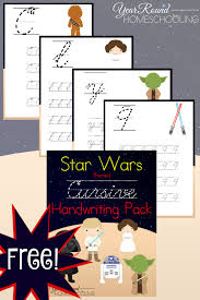 free star wars printables homeschooling