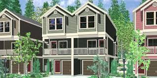 townhouse plans narrow lot best bathroom ideas 2017 narrow lot house plans the plan shop