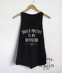 hogwarts alumni tank draco malfoy is my boyfriend shirt harry potter tank top