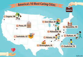 Map Of Provo Utah by Provo Utah Ranked 1 Most Compassionate City In America