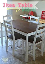 makeovers how to paint a kitchen table a mommys life a touch of