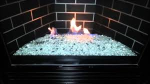 gndc33 heatilator gas fireplace conversion to fire glass rock or