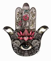 hamsa hand engraved wood sign guest bedroom bohemian style