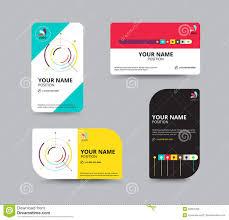business card template business card layout design vector illu