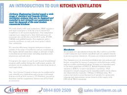 Kitchen Ventilation Design Kitchen Canopy Ventilation System