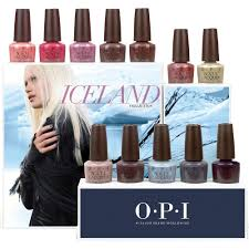 opi nail lacquer fall 2017 iceland 12 colors opi nails