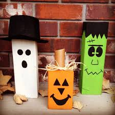 Halloween Decorations To Make At Home Best 25 4x4 Crafts Ideas On Pinterest Christmas Blocks
