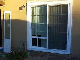 Screen For Patio Door In Glass Pet Door Cost Jeld Wen Sliding Patio With Entrance Screen