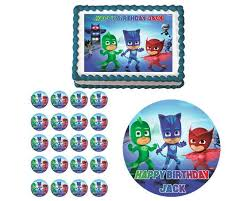 12 pj masks birthday images 5th birthday pj
