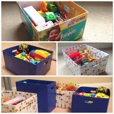 diy toy storage boxes kids room pinterest diy toy storage