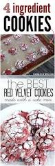red velvet cookies recipe red velvet christmas cookies