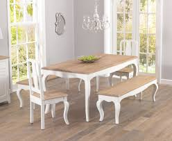 modern design shabby chic dining table and chairs surprising ideas